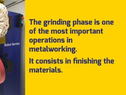Grinding metals