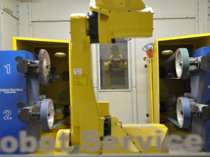 L'impianto robotizzato migliora la Fonderia.