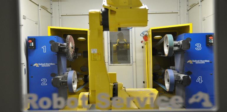 fonderie smerigliatura impianti robotizzati