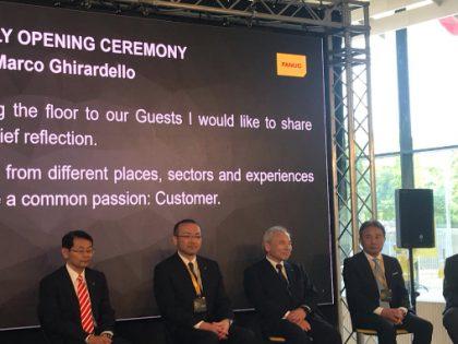 Fanuc Italia inaugura la nuova sede. C'eravamo anche noi.