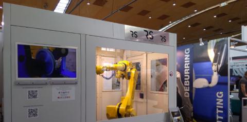 Deburring EXPO Karlsruhe Robot Service